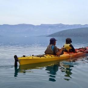 Rando sur le lac de Ste Croix