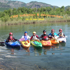 """""""WE initiation & découverte en rivière"""""""