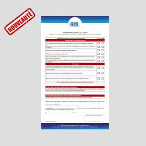 Le certificat médical: nouvelles dispositions